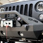 2017 jeep wrangler unlimited jk DV8 winch mount front bumper FS-15 Rough Country 9,500lbs winch pro9500