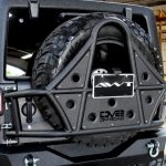 2017 jeep wrangler unlimited jk DV8 spare tire carrier TCSTTB-01