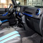 2017 jeep wrangler unlimited jk Custom painted interior accent trim