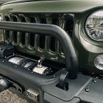 2016 jeep wrangler unlimited jk Rugged Ridge Spartacus performance 10,500lbs winch with synthetic rope