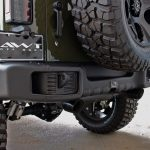 2016 jeep wrangler unlimited jk Rugged Ridge Spartacus rear bumper