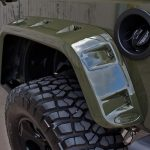 2016 jeep wrangler unlimited jk rear Rugged Ridge Hurricane Flat Fender Flares