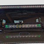 2016 jeep wrangler unlimited jk Rigid Industries 50″ Radiance LED light bar & 20″ Radiance LED light bar
