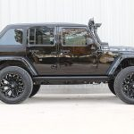 2015 jeep wrangler unlimited jk black right side angle