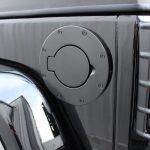 2015 jeep wrangler unlimited jk Rugged Ridge black fuel door