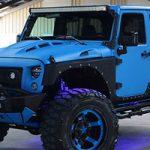 2016 Papa Smurf JK Jeep
