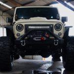 2017 jeep wrangler unlimited jk tan kevlar front angle