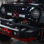 2016 jeep wrangler unlimited jk RBP RX-3 LED grille