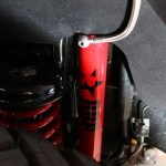 2016 jeep wrangler unlimited jk Rubicon Express remote reservoir shocks custom powder coated red