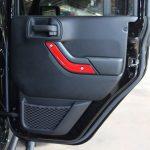 2016 jeep wrangler unlimited jk Custom painted interior accent trim rear door
