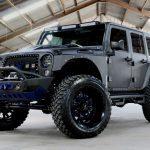 2017 jeep wrangler unlimited jk black kevlar left front angle