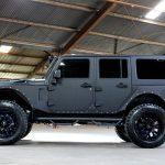 2017 jeep wrangler unlimited jk black kevlar left side angle