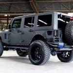 2017 jeep wrangler unlimited jk black kevlar left rear angle