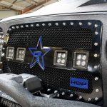 2017 jeep wrangler unlimited jk RBP RX-3 LED grille