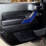 2017 jeep wrangler unlimited jk Custom painted interior accent trim front door