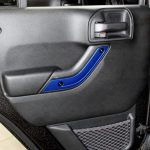 2017 jeep wrangler unlimited jk Custom painted interior accent trim rear door panel