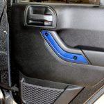 2017 jeep wrangler unlimited jk Custom painted interior accent trim door panel