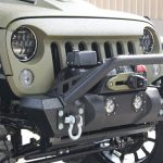 2016 jeep wrangler unlimited jk green kevlar Angry Eye grille