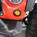 2013 jeep wrangler unlimited jk Recon LED smoked front turn signals