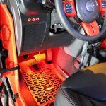 2013 jeep wrangler unlimited jk Red LED interior lighting