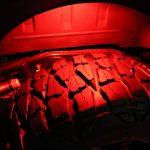 2013 jeep wrangler unlimited jk Red LED lighting