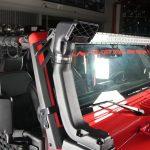 2013 jeep wrangler unlimited jk Rugged Ridge XHD snorkel intake