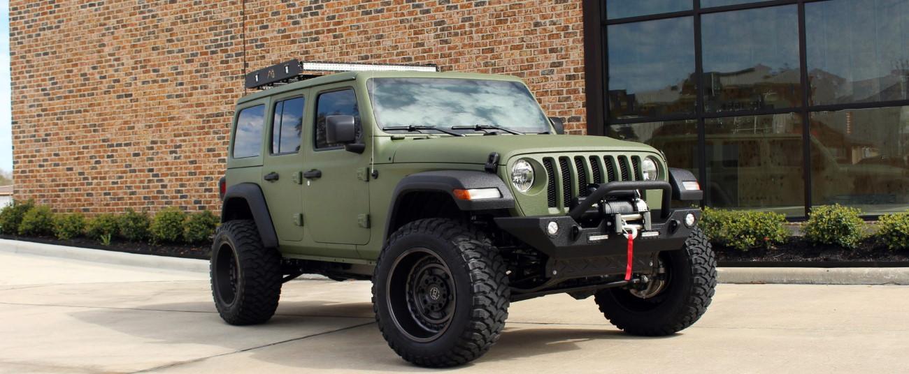2018 jeep wrangler unlimited jl army green kevlar