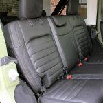 2018 jeep wrangler unlimited jl rear seat custom leather