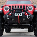 2020 jeep gladiator jt DV8 FS-15 winch mount front bumper with D-rings & over rider hoop