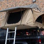 2020 Jeep Gladiator JT Smittybilt Overlander tent open
