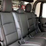 2020 Jeep Gladiator JT rear seat custom leather