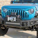 2019 jeep wrangler unlimited jl Go Rhino Rockline winch mount front bumper