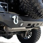 2019 jeep wrangler unlimited jl DV8 rear bumper with LED Lighting, D-rings & hitch RBJL-01