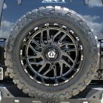 2019 jeep wrangler unlimited jl Rough Country spare tire carrier 10526