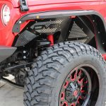 2018 jeep wrangler unlimited jl DV8 Slim fenders front FDJL-02