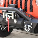 2018 jeep wrangler unlimited jl DV8 FS-7 winch mount front bumper with LED Lighting D-rings and over rider hoop