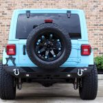 2018 jeep wrangler unlimited jl DV8 rear bumper LED Lighting D-rings hitch RBJL-01 Rough Country spare tire carrier 10526