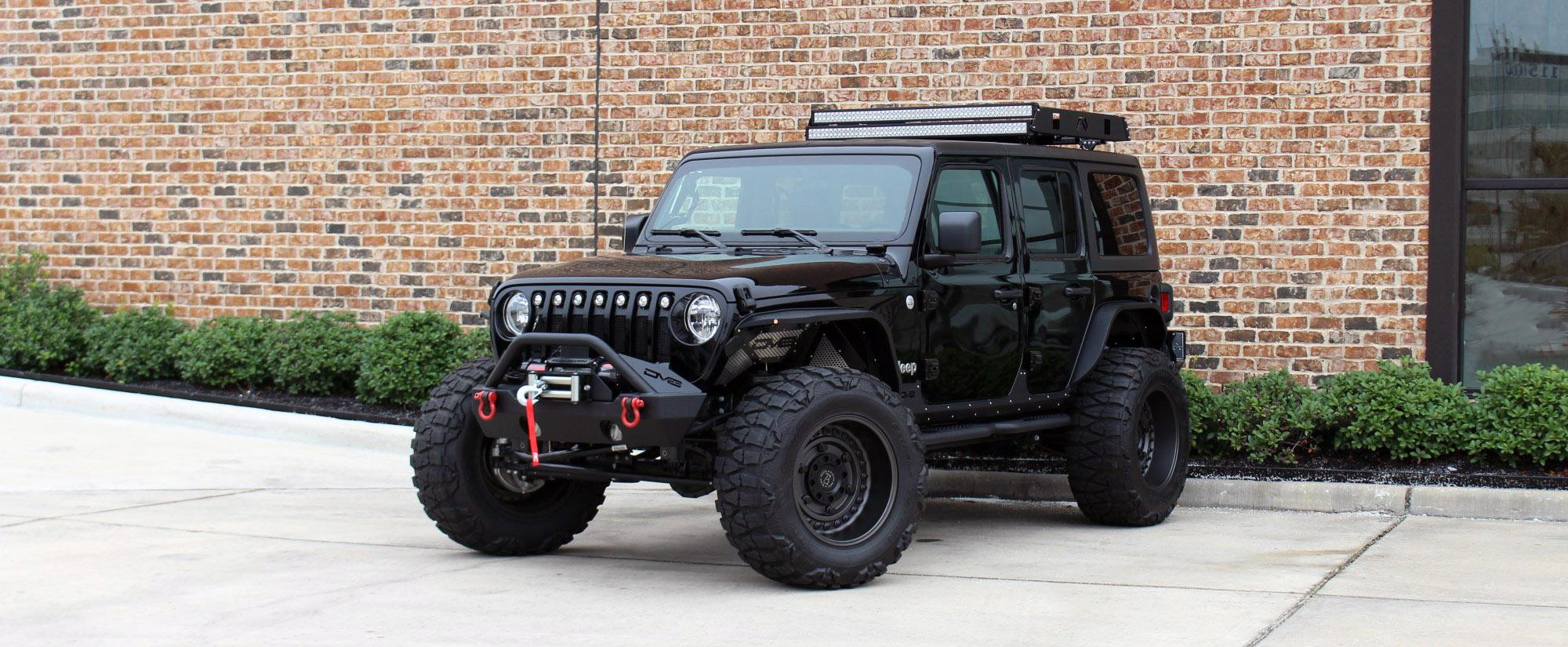 2018 jeep wrangler unlimited jl black