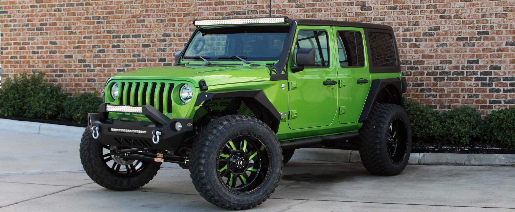 2018 jeep wrangler unlimited jl green