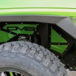 2018 jeep wrangler unlimited jl DV8 front inner fenders with paint matched accents INFEND-03FB