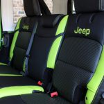 2018 jeep wrangler unlimited jl rear seat custom leather