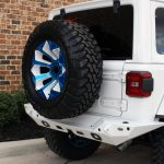 2018 jeep wrangler unlimited jl Rough Country spare tire carrier 10526