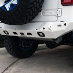 2018 jeep wrangler unlimited jl DV8 rear bumper with LED Lighting RBJL-01