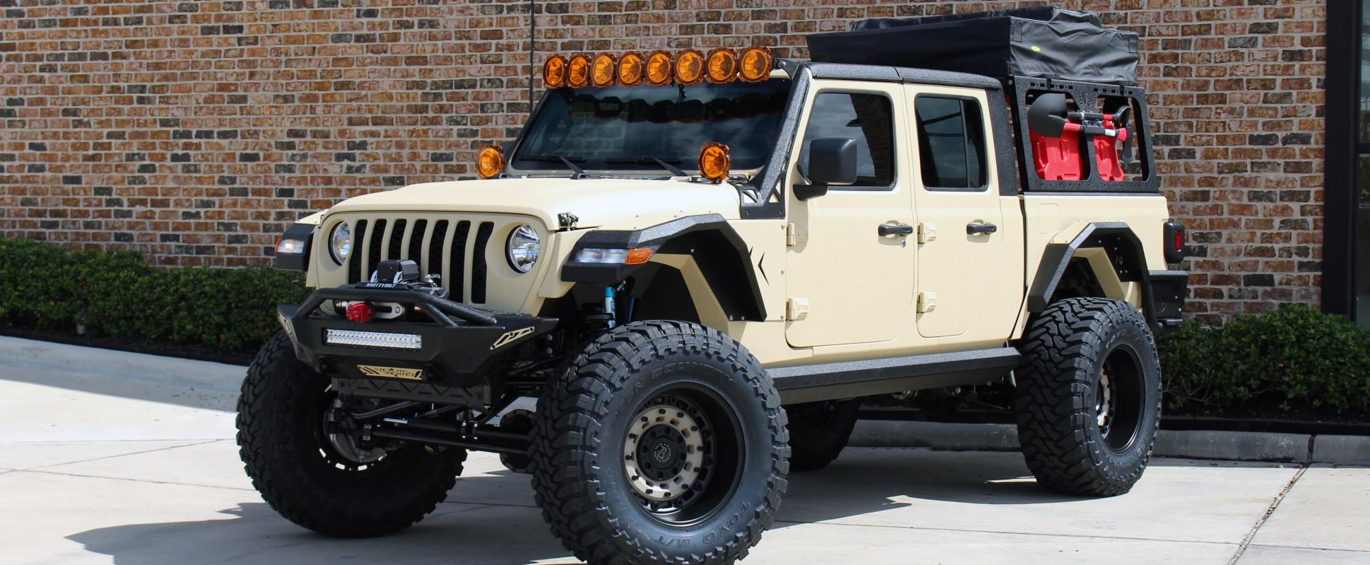 2020 Jeep Gladiator JT kevlar