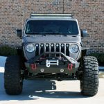 2018 jeep wrangler unlimited jl front angle T-Rex Torch Series LED grille insert