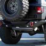 2018 jeep wrangler unlimited jl DV8 rear bumper with LED Lighting & D-rings RBJL-01