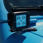 2019 jeep wrangler unlimited jl Rough Country lower windshield mount with 2″ LED lights 70049DRL