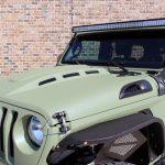 2019 jeep wrangler unlimited jl DV8 Heat Dispersion hood