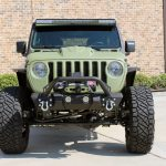 2019 jeep wrangler unlimited jl army green kevlar front angle