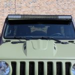 2019 jeep wrangler unlimited jl DV8 upper windshield mount LBJL-01 DV8 50″ LED light bar B50CE300W3W